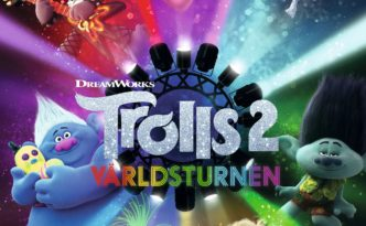 "Poster for the movie ""Trolls 2: Världsturnén"""