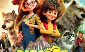 "Poster for the movie ""Familjen Bigfoot"""